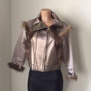 Oscar de la renta Woman jacket coat size 6